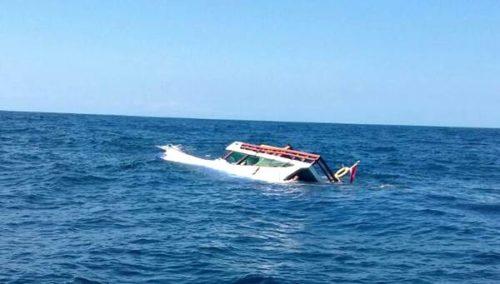 Kapal Tenggelam di Sape, 2 Orang Meninggal, 3 Orang Hilang