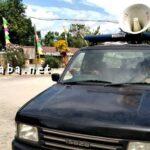Imbau Warga Sukseskan Pawai Budaya, Pemerintah Kecamatan Bolo Konvoi Keliling