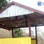 Tingkatkan Keamanan Desa, Pemdes Kara Bangun Pos Kamling