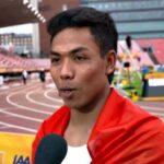 Sprinter Asal NTB, Lalu Muhammad Zohri Juara Dunia di Finlandia