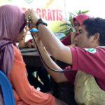 Warga Miskin Desa Timu Dapat Layanan Pengobatan Gratis