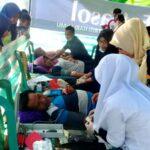 Peduli Gempa Lombok, Pemuda Kempo Galakkan Donor Darah
