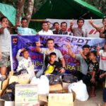 Alumni Seba PK POLRI Angkatan 99-00 Salurkan Bantuan Korban Gempa Lombok