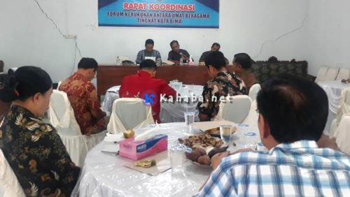 Jalin Kemitraan Lintas Agama, Bakesbangpol Gelar Rakor dengan FKUB