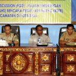 Dinas PUPR Diskusi KLHS RDTR Kecamatan Rasanae Barat dan Mpunda