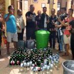 Polisi Amankan Puluhan Miras di Kecamatan Sape