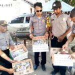 Jajaran Polsek Bolo Galang Dana Untuk Korban Gempa Lombok
