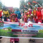Ribuan Siswa TK dan PAUD Ikut Meriahkan Karnaval