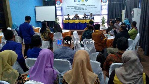 STIE dan STKIP Bima Dapat Program Asuh Menuju Studi Unggul Dari Universitas Lampung