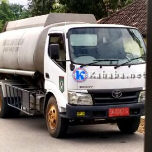 Mobil Tangki Air Pemkot Terjaring Razia