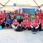 Bantu Korban Gempa Lombok, PSMTI Kota Bima Salurkan Bantuan