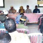 Pemdes Darussalam Bentuk Panitia Pemilihan Kepala Desa Tahun 2018
