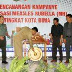 Pemkot Bima Canangkan Kampanye Imunisasi Measles Rubella