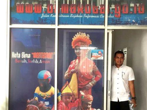Malik Siapkan Ruangan Khusus Media di Kantor Walikota Bima