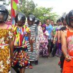 Lomba Gerak Jalan di Sarae Unik, Peserta dan Penonton Tak Kuasa Menahan Tawa