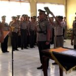 Kasat Reskrim dan Kasat Lantas Polres Bima Kota Pindah Tugas