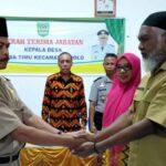 Masa Jabatan Arsyad Selesai, H Gunawan Ditunjuk Pjs Kepala Desa Timu