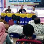 I Nengah Dasi Astawa Berkunjung ke STIE, Sosialisasi Perubahan Nama Kopertis ke LLDIKTI