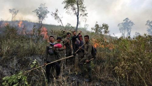 Taman Nasional Tambora Resort Doro Ncanga Dilahap Api