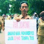Forum Honorer Indonesia Kota Bima Tolak Seleksi CPNS K2