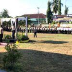 Polres Bima Kota Apel Pasukan Operasi Mantap Brata Gatarin 2018