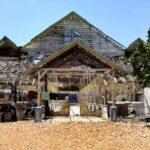 Warga Tente Pertanyakan Nasib Gedung Paranaka yang Dibongkar