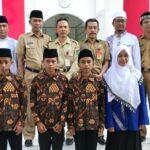 Ikut MTQ Nasional di Medan, 6 Kafilah Kota Bima Dilepas