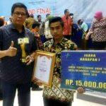 Wakili NTB, Perpustakaan Desa Cempi Jaya Raih Juara Tingkat Nasional