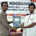 KPU Bima Tetapkan 601 DCT Anggota Legislatif