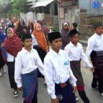 Peringati Tahun Baru Hijriah, Pemdes dan PHBI Samili Gelar Pawai Ta'aruf