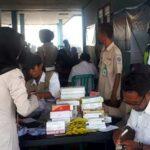 Peringati HUT, TNI dan Polri Adakan Pengobatan Gratis