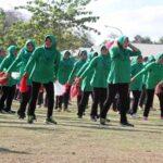 Jajaran TNI-Polri Gelar Senam Bersama