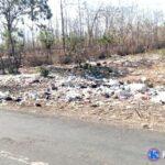 Perbatasan Rada dan Tumpu Berubah Jadi Tempat Sampah