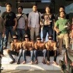 Pesta Narkoba, Terduga Bandar dan 3 Pemuda Diringkus