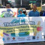 Tim Penggerak Literasi Salurkan 1.000 Perlengkapan Sekolah untuk Korban Gempa