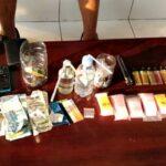 4 Orang Terduga Pengedar Sabu-Sabu Diseret ke Kantor Polisi