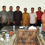 Pasca Pilkada, KPU Silahturahim dengan Walikota Bima Terpilih