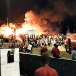 Terbakar dan Susah Dipadamkan, Kapal Kartika Express Ditenggelamkan