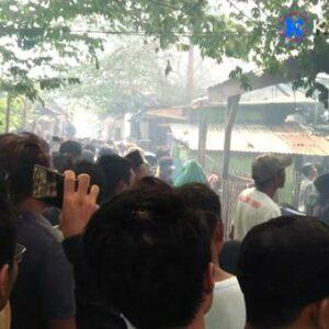 Kompor Meledak, 4 Rumah di Sarae Terbakar