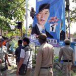 Bawaslu Bersama Pol PP, TNI dan Polri Tertibkan Alat Peraga Kampanye Caleg