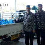 Baznas Kota Bima Bagikan 5 Ton Beras Bagi Warga Tidak Mampu