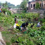 Agar Pemukiman Warga Tidak Banjir, KSO Bersihkan Sungai