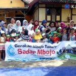 Keliling Kelurahan, Gerakan Mbojo Tanao Ajak Siswa Cinta Membaca dan Menulis