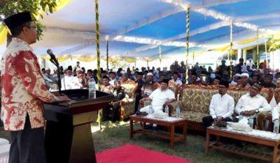 Gubernur NTB, Walikota dan Wawali Silaturahim dengan Keluarga Besar Ponpes Al-Ikhwan