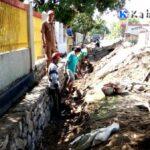 Pakai Dana Desa, Pemdes Rato Buat Irigasi Penanggulangan Banjir