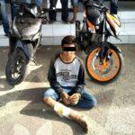 Curi Motor Polisi, Pemuda ini Dilumpuhkan Dengan Tembakan