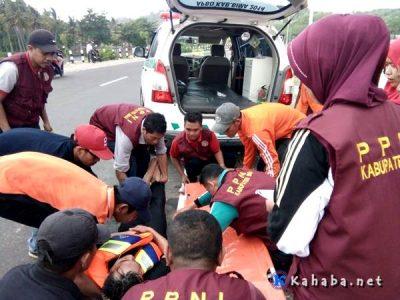 PPNI Bima Evakuasi Puluhan Warga Korban Gempa