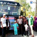 Ratusan Jamaah Khilafatul Muslimin Berangkat Hadiri Tablik Akbar di Bogor
