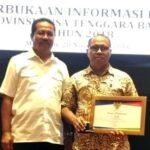 Pemkot Bima Raih Urutan Ketiga Kategori Badan Publik Cukup Informatif se-NTB