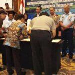 Cegah dan Berantas Korupsi, Walikota Bima Tandatangan Perjanjian Kerjasama Dengan Polisi dan Jaksa